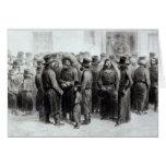 Comerciantes y comerciantes judíos tarjeta de felicitación