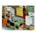 Comercio al por menor del vintage, tienda de la sa postales