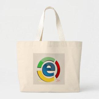 Comercio electrónico bolsa tela grande