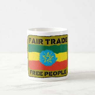 Comercio justo - taza de Ethopia