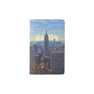 Comercio mundial del Empire State Building del Funda Para Libreta Y Libreta Pequeña Moleskine