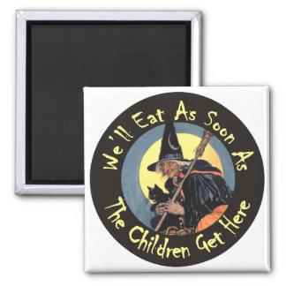 Comeremos tan pronto como los niños consigan aquí iman