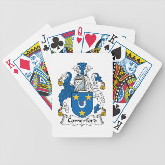 Comerford Family Crest Bicycle Poker Deck
