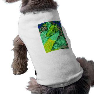 """Comes A Dragon"" Doggie Tee"