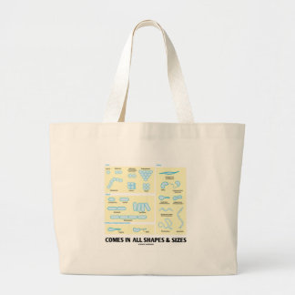 Comes In All Shapes & Sizes (Bacterial Morphology) Bags
