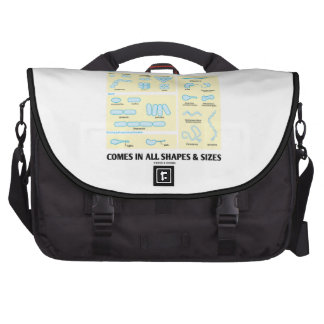 Comes In All Shapes & Sizes (Bacterial Morphology) Computer Bag