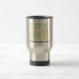 Comes In All Shapes & Sizes (Bacterial Morphology) Travel Mug
