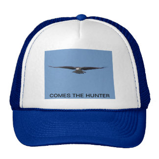 Comes The Hunter Trucker Hat