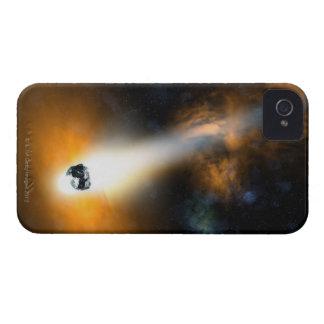 Comet descending through atmosphere Case-Mate iPhone 4 case