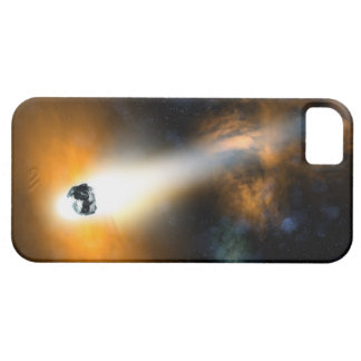 Comet descending through atmosphere iPhone SE/5/5s case