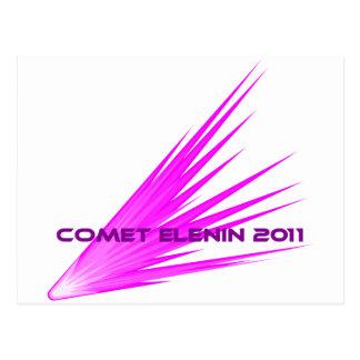 Comet Elenin 2011 Postcard