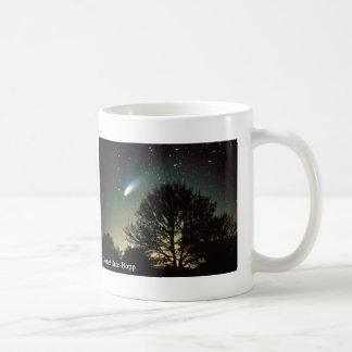 Comet Hale Bopp And Tree, Coffee Mug / Cup