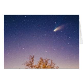Comet Hale Bopp Card