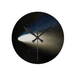 Comet Hale-Bopp Round Clock