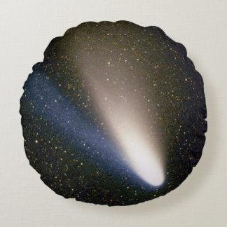 Comet Hale Bopp Round Pillow