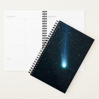 Comet in Night Sky Planner