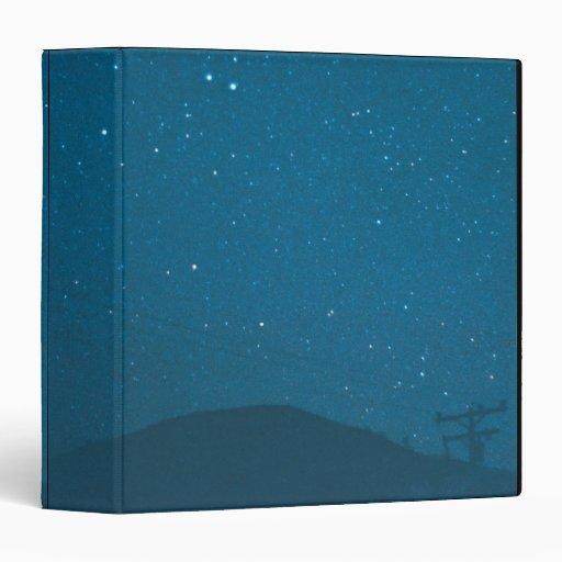 Comet Iras-Araki-Alcock Vinyl Binder