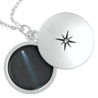 COMET ISON Sterling Silver Locket Necklaces