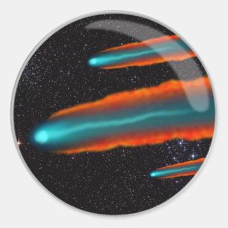 Comet Lens Classic Round Sticker
