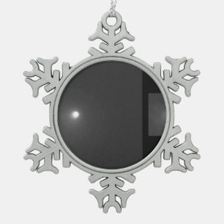 Comet Levy Snowflake Pewter Christmas Ornament