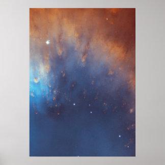 Comet-like Filaments Along the Inner Rim Poster
