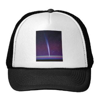 Comet Lovejoy Near Earth's Horizon Hat