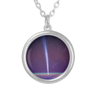 Comet Lovejoy Near Earth's Horizon Necklace