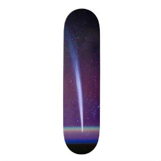 Comet Lovejoy Near Earth's Horizon Skateboard Deck