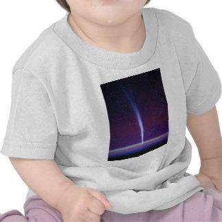 Comet Lovejoy Near Earth's Horizon T Shirt