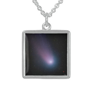 Comet Neat Sterling Silver Necklace
