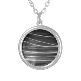 Comet Round Pendant Necklace
