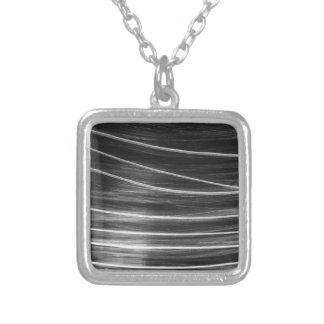 Comet Square Pendant Necklace