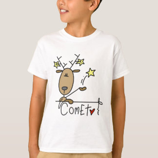 Comet Reindeer Tshirts and Gifts