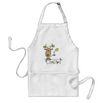 Comet Reindeer Tshirts and Gifts Adult Apron