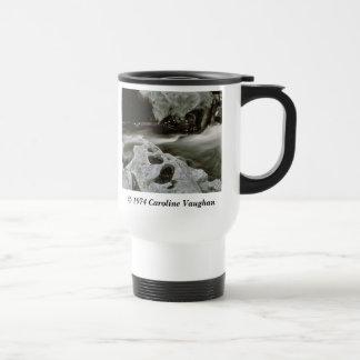 comet rocks 74,  1974 Caroline Vaughan , Smoke... Travel Mug