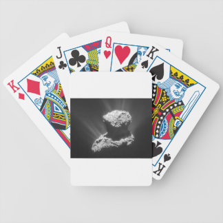 Comet Rosetta Bicycle Playing Cards