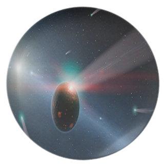 Comet Storm Dinner Plate