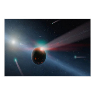 Comet Storm Poster