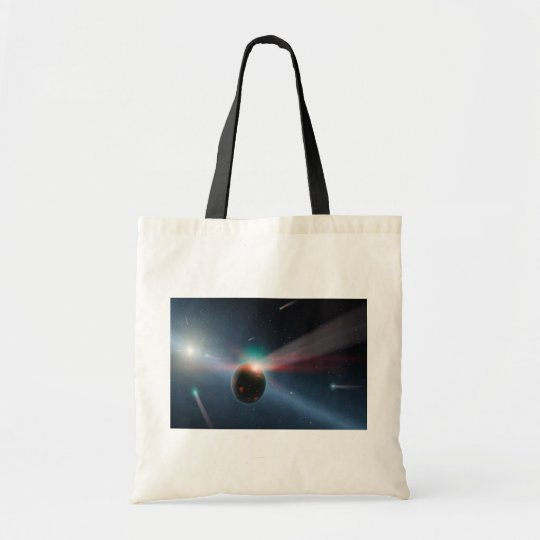Comet Storm Shopper Tote Bag