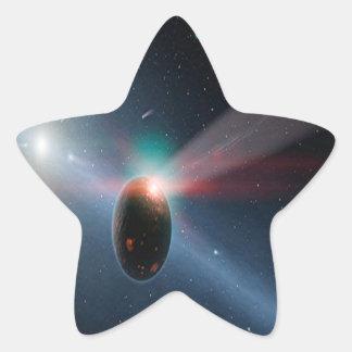 Comet Storm Star Stickers
