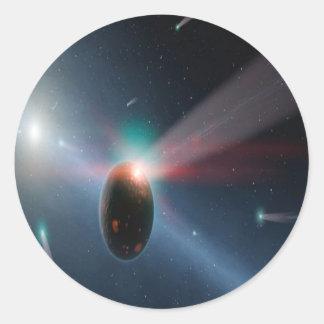 Comet Storm Sticker