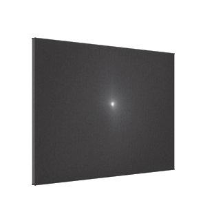 Comet Tempel 1 - 3 Minutes Before Deep Impact Coll Canvas Print