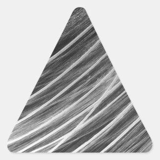 Comet Triangle Sticker