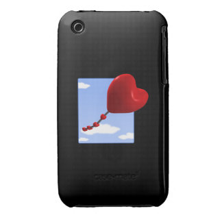 Cometa 2 del corazón Case-Mate iPhone 3 protectores