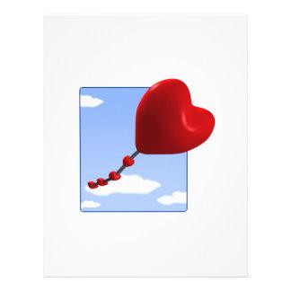 Cometa 2 del corazón tarjetón