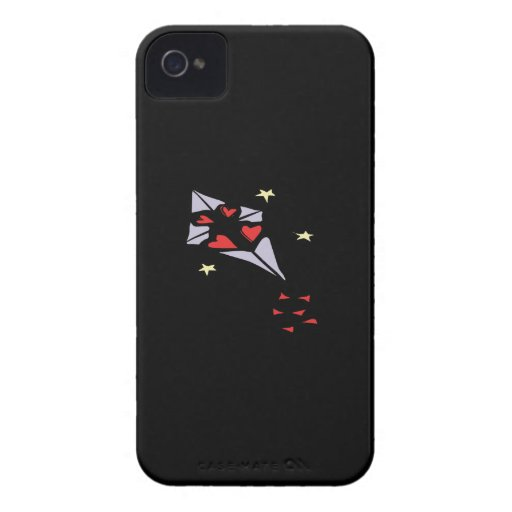 Cometa 3 del corazón iPhone 4 Case-Mate carcasas