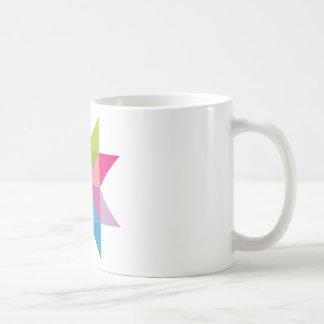 Cometa brillante de la forma de la estrella del taza clásica