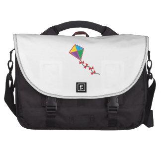 Cometa colorida bolsa de ordenador