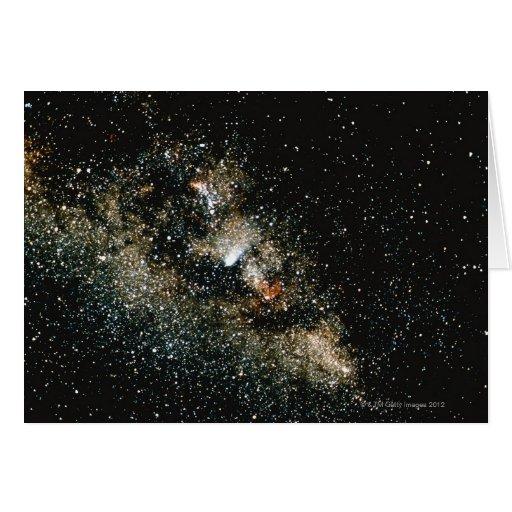 Cometa de Halleys en la vía láctea Felicitaciones
