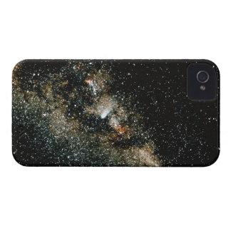 Cometa de Halleys en la vía láctea Funda Para iPhone 4 De Case-Mate